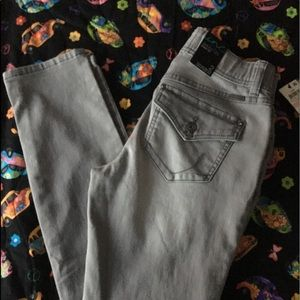 INC. By Macy's-curvy fit, size 2, grey jeans. NWT.